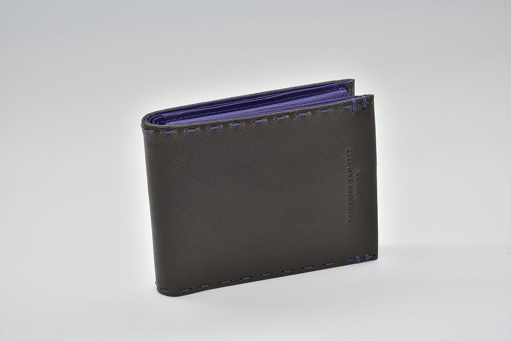 キャサリンハムネット カラーテーラード レザー 二つ折り財布 490-51905-97【新品】☆