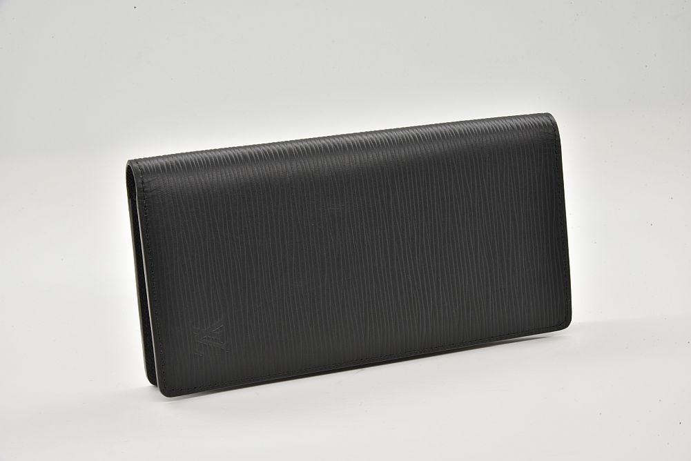 ヴィトン エピ ポルトフォイユ ブラザ 二つ折長財布 ノワール M60622