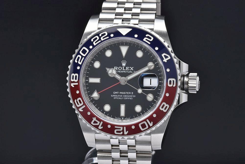 ロレックス 126710BLRO オイスターパーペチュアル GMTマスター2 ジュビリーブレス 青赤ベゼル ランダム【正規品】