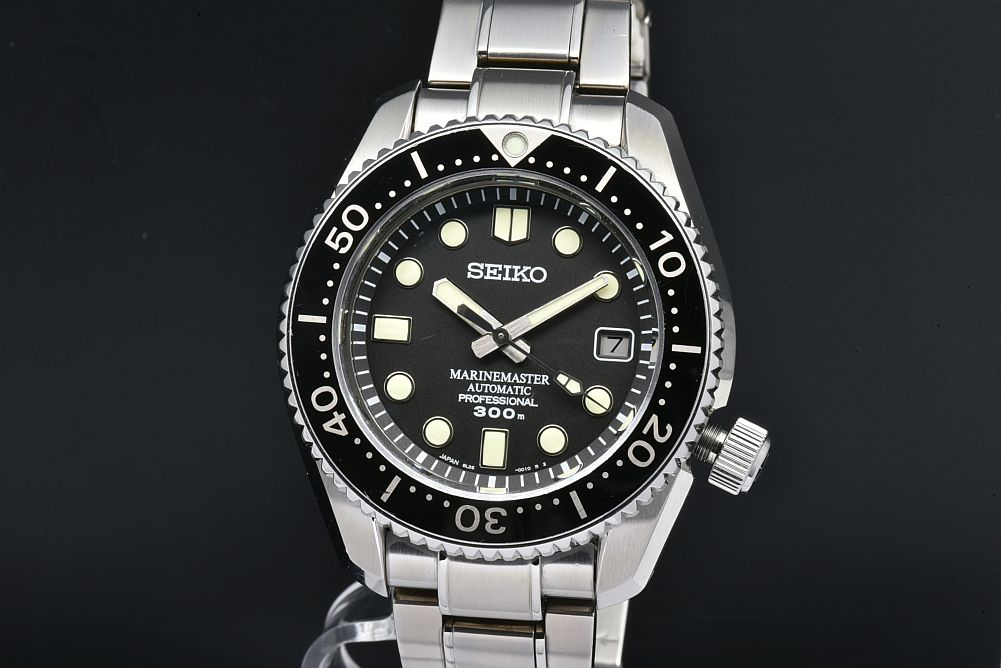 セイコー SBDX017 プロスペックス マリーンマスター プロフェッショナル メンズ SS/セラミック オートマ 8L35【雫石高級時計工房・正規品】