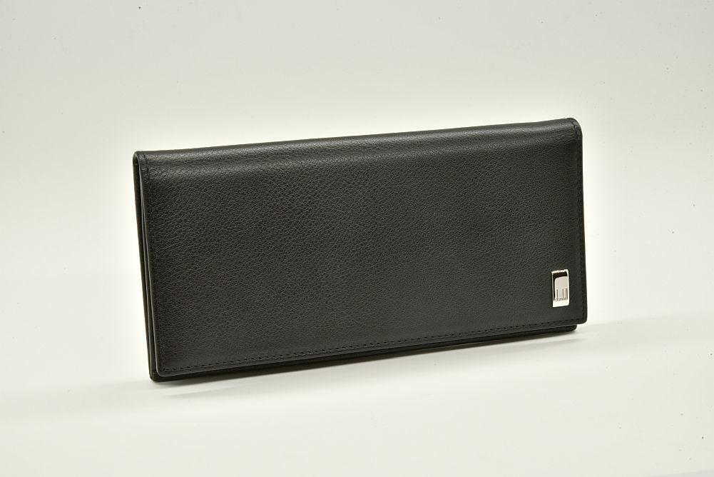 ダンヒル サイドカー 二つ折り長財布 ブラック QD1010A【新品同様】