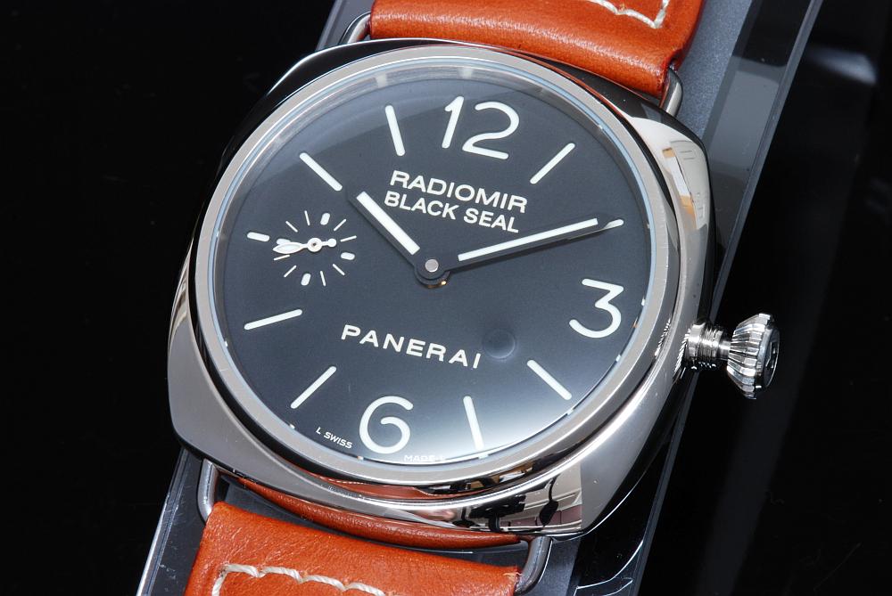 パネライ PAM00183 ラジオミール ブラックシール 手巻