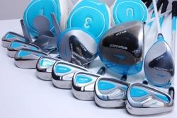 ワールドイーグル WORLD EAGLE  WE-G510 レディース16点ゴルフセット レフティ キャディバッグ付