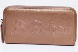 ブルガリ ソティリオ ブルガリ ラウンドファスナー長財布 ラウンドジップウォレット 32562