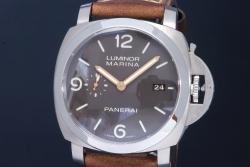 パネライ PAM00351 ルミノールマリーナ 1950 3デイズ チタン/レザー メンズ オートマ【正規品】