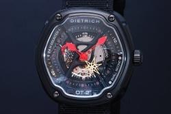 ディートリッヒ DIETRICH オーガニックタイム2 DROT002 OT-2 メンズ オートマ スモセコ 黒PVD
