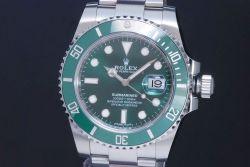 ロレックス 116610LV グリーン サブマリーナデイト SS オートマ メンズ ダイバー ランダム【新品同様・正規品】