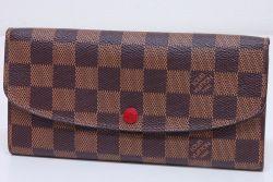 ヴィトン ダミエ ポルトフォイユ エミリー 二つ折長財布 N63544