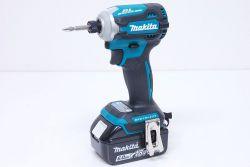 マキタ makita TD171DRGX 充電式インパクトドライバ バッテリー2個付き DIY 電動工具 ブルー【新品】