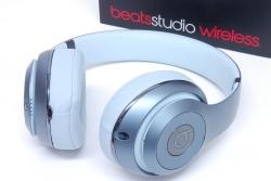 ビーツ beats by Dr.Dre studio2 wireless オーバーイヤーワイヤレスヘッドホン MHDL2PA/A B0501 スカイ【新品同様】
