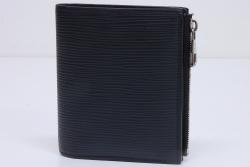 ヴィトン エピ ポルトフォイユ スマート 二つ折財布 ノワール M64007