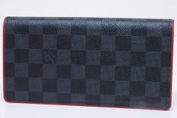 ヴィトン ダミエ グラフィット ポルトフォイユ ブラザ 二つ折り長財布 N63254【未使用】