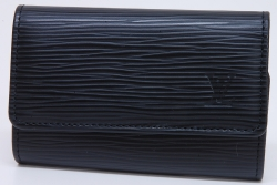 ヴィトン エピ ミュルティクレ 6本キーケース ノワール M63812【新品同様】