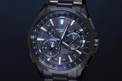 カシオ オシアナスOCW-G1000B-1A メンズ チタン フルメタル GPSハイブリッド電波ソーラー時計 黒文字盤