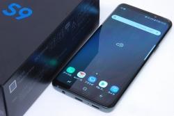 サムスン au Galaxy S9 SCV38 ギャラクシー チタニウムグレー スマートフォン【未使用品】