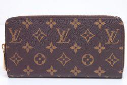 ヴィトン モノグラム ジッピーウォレット ラウンドファスナー長財布 フューシャ M41895【未使用】