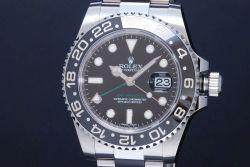 ロレックス 116710LN オイスターパーペチュアル GMTマスター2 メンズ SS オートマ ランダム 黒文字盤