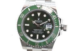 ロレックス 116610LV グリーン サブマリーナデイト メンズ SS ダイバー ランダム