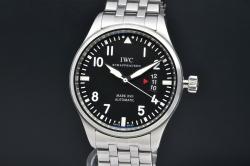 IWC シャフハウゼン IW326504 パイロットウォッチ マーク17 メンズ SS オートマ 30110 黒文字盤