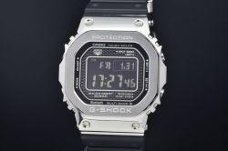 カシオ GMW-B5000-1JF Gショック フルメタル メンズ SS/ラバー ソーラー電波時計 スクエア シルバー【未使用・モバイルリンク】
