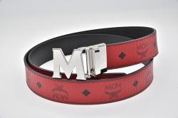 MCM クラウス リバーシブル ヴィセトス ベルト レッド MXB 6AVI02 RU001【正規・未使用】☆