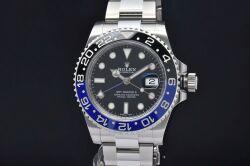 ロレックス 116710BLNR オイスターパーペチュアル GMTマスター2 メンズ SS オートマ 青黒ベゼル ランダム【バットマン】