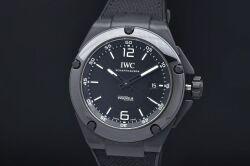 IWC シャフハウゼン IW322503 インヂュニア AMG ブラックシリーズ セラミック メンズ オートマ 80110 黒文字盤【正規品・新品同様】