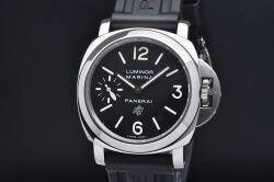 パネライ PAM00005 ルミノール マリーナ ロゴ 44mm メンズ SS/ラバー 手巻き スモセコ M番【正規品】