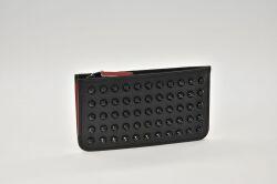 クリスチャンルブタン M Credilou Nv Classic Leather カードケース コインケース 小銭入 ブラック【新品】