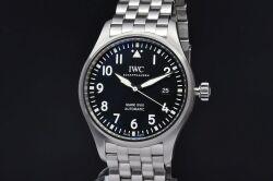 IWC シャフハウゼン IW327011 パイロットウォッチ マーク18 メンズ SS オートマ 30110 黒文字盤【メーカーOH済・正規品】