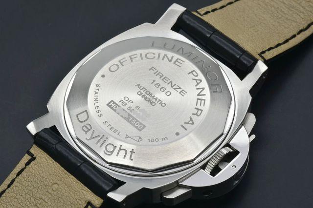huge discount 90c2b 55a57 パネライ PAM00196 ルミノール クロノグラフ デイライト メンズ ...