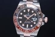 ロレックス 126711CHNR オイスターパーペチュアル GMTマスター2 メンズ SS/K18RG ランダム 黒【正規・新品】