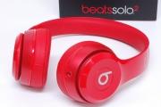 ビーツ beats by Dr.Dre SOLO2 RED オンイヤーヘッドホン MH8Y2PA/A【未使用】