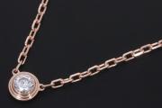 カルティエ ディアマン レジェ ネックレス SM K18PG ピンクゴールド ダイヤモンド B7215700【新品同様】
