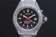 セイコー SBDW005 プロスペックス ランドマスター キネティック GMT メンズ 純チタン オートクォーツ 黒文字盤