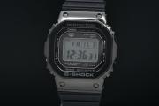 カシオ Gショック GMW-B5000G-1JF 5000シリーズ メンズ SS/樹脂 ソーラー電波時計 スクエア 黒【スマートフォンリンク】