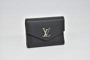 ヴィトン ポルトフォイユ マイロックミー コンパクト カーフレザー 三つ折り財布 ノワール M62947【未使用品】