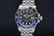 ロレックス 126710BLNR オイスターパーペチュアル GMTマスター2 ジュビリーブレス 青黒ベゼル ランダム【正規品】