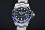 ロレックス 116710BLNR オイスターパーペチュアル GMTマスター2 メンズ SS オートマ 青黒ベゼル ランダム【日本ロレックスOH済】