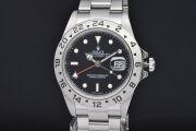 ロレックス 16570 オイスターパーペチュアル エクスプローラー2 ブラック メンズ GMT SS オートマ EX2 Z番 黒文字盤【正規品・OH済】