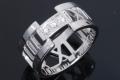 ティファニー アトラス オープン ダイヤリング K18WG 10号