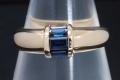ティファニー スタッキングリング 3Pサファイヤ K18YG