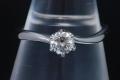 平和堂 プリンセスダイヤモンド PT950 ダイヤ0.320 G-VS1 リング 指輪