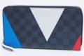ヴィトン アメリカズカップ 2017 ダミエ コバルト ジッピーオーガナイザー ラウンドファスナー長財布 N41631