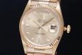 ロレックス 18238A デイデイト 10Pダイヤ シャンパン K18YG 金無垢 メンズ オートマ W番