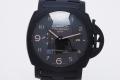 パネライ PAM00438 ルミノール1950 3デイズ GMT トゥットネロ チェラミカ セラミック メンズ オートマ R番【正規品・新品同様】