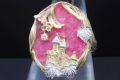 石川暢子 アズタイム メルヘン K18YG PT900 ロードナイト ダイヤモンド リング 指輪 #12