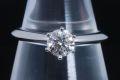 ティファニー ソリティア ダイヤモンド リング PT950 プラチナ ダイヤ 0.57ct G-VVS1-G【鑑定書付】