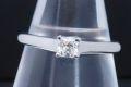 ティファニー ルシダ ダイヤモンド リング PT950 プラチナ ダイヤ 0.23ct F-VVS2-VG【鑑定書付・新品同様】
