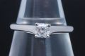 ティファニー ルシダ ダイヤモンド リング PT950 プラチナ ダイヤ 0.34ct E-VS1-VG【鑑定書付・新品同様】